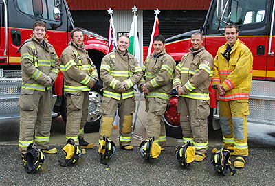 WEP #8 Graham Weatherall - Hired by London Fire Department Mark Pringle, Chad Skand – Hired by Delta Fire Rescue Service Kyle Clapdorp –Hired by Hamilton Fire Department, Mark Kyle Mitchell – Hired by Guelph Ont FRS, Benoit Marleau