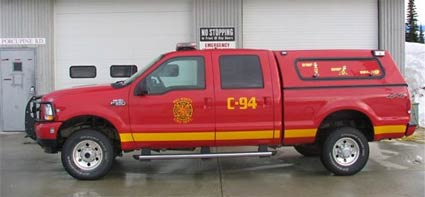 Command Unit - Duty Officer Response Vehicle – 2004 F-350 4X4